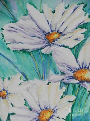 Wild Daisys Poster by Chrisann Ellis