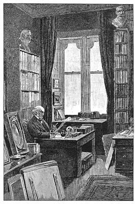 William Ewart Gladstone (1809-1898) Poster by Granger