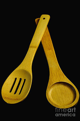Wooden Spoons Poster by Tikvah's Hope