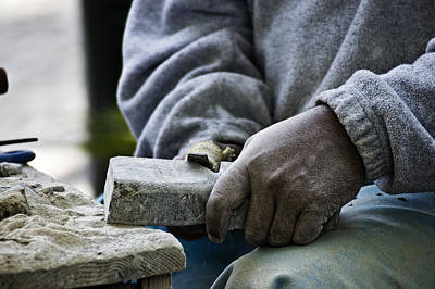 Working Hands Poster