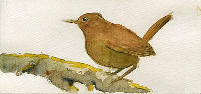 Wren Bird Poster