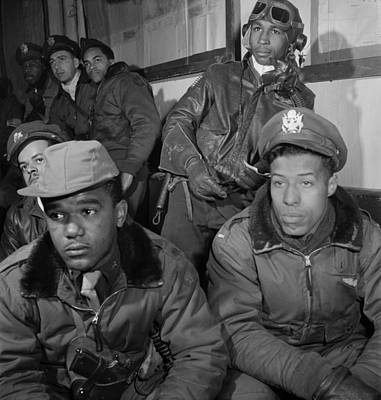 Wwii: Tuskegee Airmen, 1945 Poster