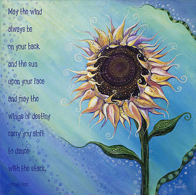 You Are My Sunshine Poster by Tanielle Childers