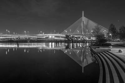 Zakim In Black And White Poster