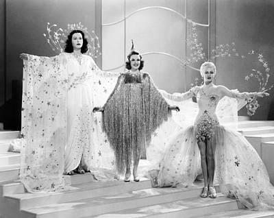 Ziegfeld Girl, From Left, Hedy Lamarr Poster by Everett