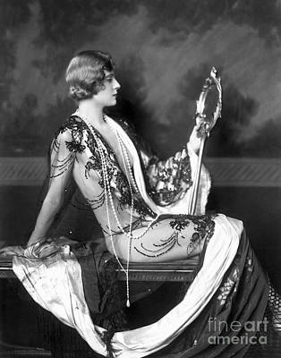 Ziegfeld Showgirl Model - Olive Brady - Whoopee Poster by MMG Archive Prints