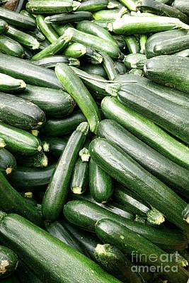 Zucchinis Poster