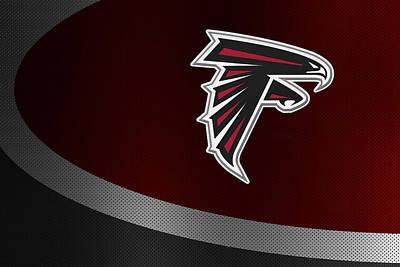 Atlanta Falcons Poster by Joe Hamilton