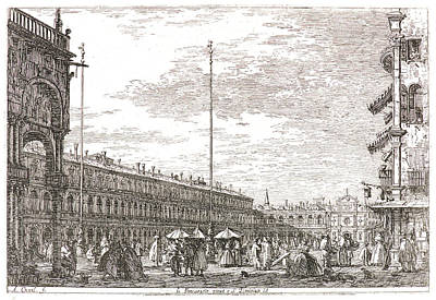 Canaletto Aka Antonio Canale Italian Poster by Litz Collection