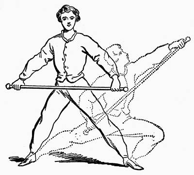 Exercise, 19th Century Poster by Granger