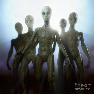 Extraterrestrial Life Poster by Science Picture Co