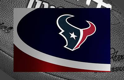 Houston Texans Poster by Joe Hamilton