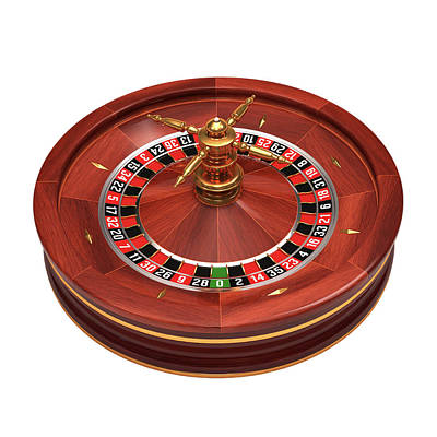 Roulette Wheel Poster