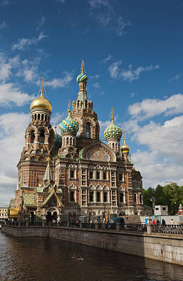 Russia, Saint Petersburg, Center Poster by Walter Bibikow