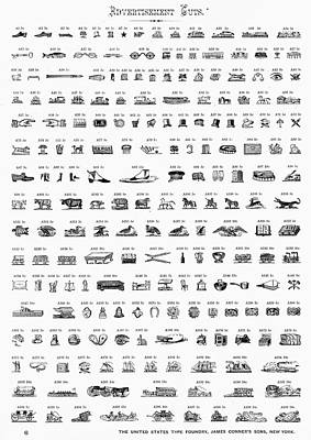Type Foundry Designs Poster by Granger