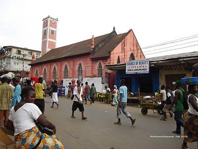 200 Year Old Methodist Church-sani Abacha Street  Poster