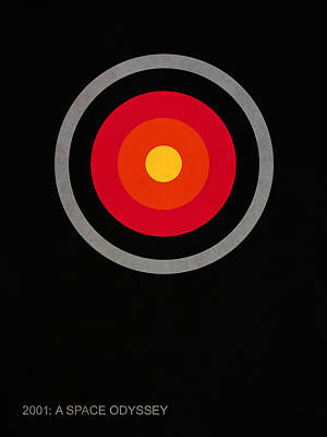 2001 A Space Odyssey - Hal Poster