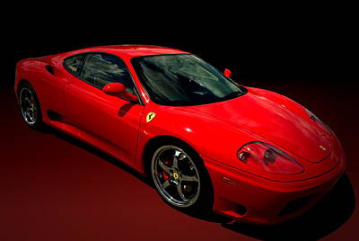 2004 Ferrari 360 Modena Poster by Tim McCullough