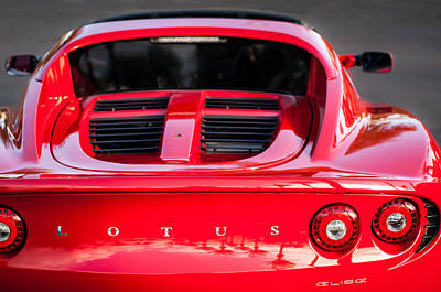 2006 Lotus Elise -0046c Poster by Jill Reger