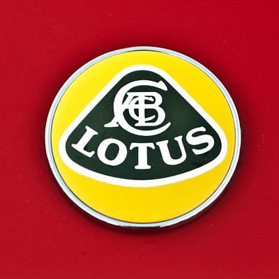 2006 Lotus Emblem -0014c Poster by Jill Reger