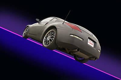 2008 Nissan Z350 'drifter' Poster
