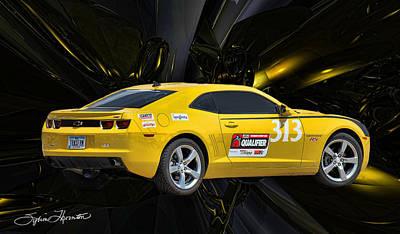 2010 Camaro Poster