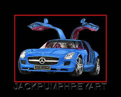 2010 Mercedes Benz S L S A Mg Poster