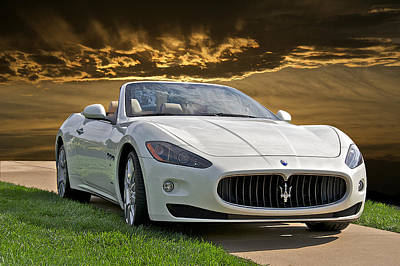 2011 Maserati Gran Turismo Convertible II Poster by Dave Koontz