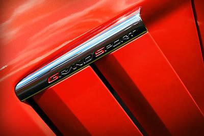 2012 Chevy Corvette Grand Sport Poster by Gordon Dean II