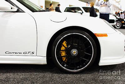 2012 Porsche 911 Carrera Gt . 7d9630 Poster by Wingsdomain Art and Photography