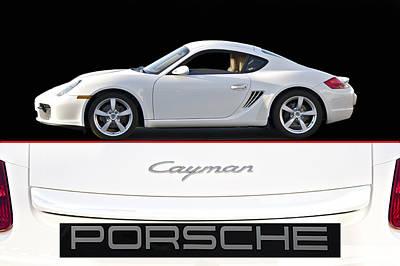 2012 Porsche Cayman R Poster