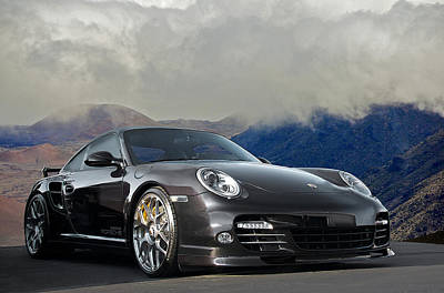 2012 Porsche Turbo S Poster by Dave Koontz