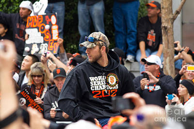 2012 World Series Champions San Francisco Giants Parade Madison Bumgarner 7d19565 Poster by Wingsdomain Art and Photography