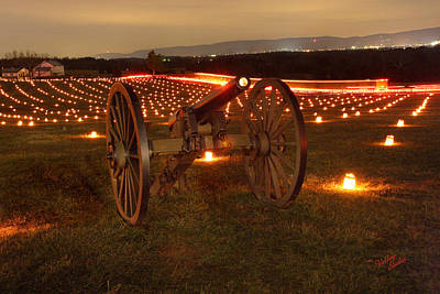 Poster featuring the photograph 2013 Antietam Cannon by Judi Quelland