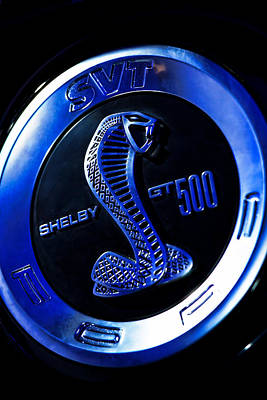2013 Ford Mustang Shelby Gt 500 Poster by Gordon Dean II
