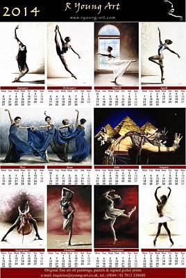 2014 Fine Art Calendar Poster by Richard Young