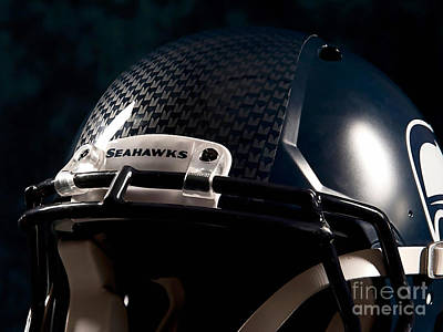2014 Super Bowl Seahawks Poster by Marvin Blaine