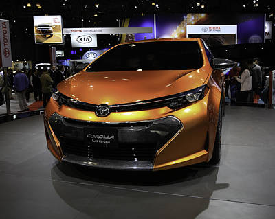 2014 Toyota Corolla Furia Concept Showcased At The Poster