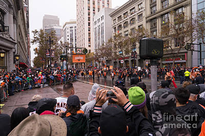 2014 World Series Champions San Francisco Giants Dynasty Parade Dsc1951 Poster by Wingsdomain Art and Photography