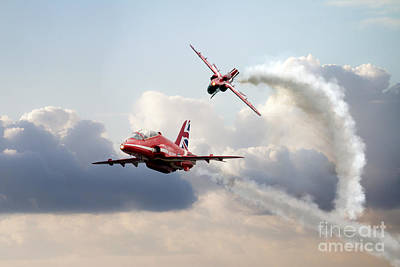 2015 Red Arrows Pair Poster