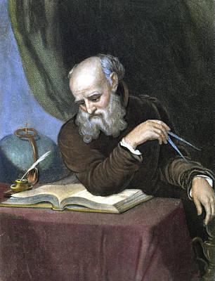 Galileo Galilei (1564-1642) Poster