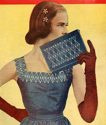 1950s Uk Illustrations Magazine Plate Poster
