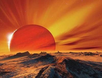 Alien Planetary System Poster