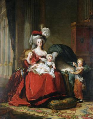 Marie Antoinette (1755-1793) Poster by Granger