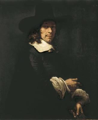 Rembrandt, Harmenszoon Van Rijn, Called Poster