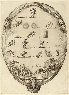 Stefano Della Bella Italian, 1610 - 1664 Poster by Quint Lox