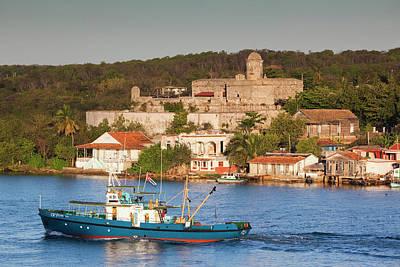 Cuba, Cienfuegos Province, Cienfuegos Poster by Walter Bibikow