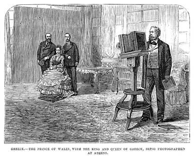 Edward Vii (1841-1910) Poster by Granger