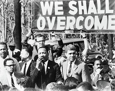 Martin Luther King, Jr Poster by Granger