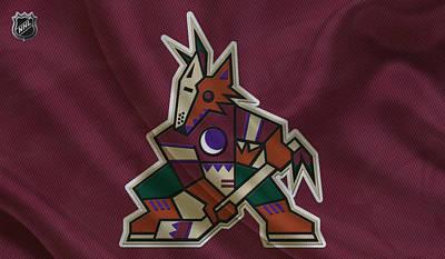 Phoenix Coyotes Poster by Joe Hamilton